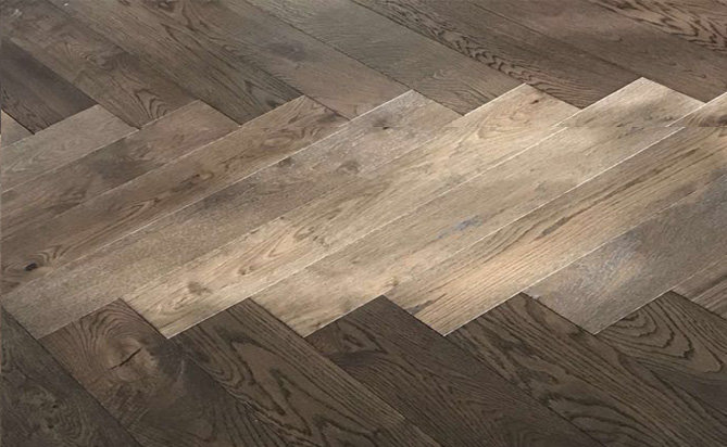 MultiLayer Herringbones Engineered Wood Floor