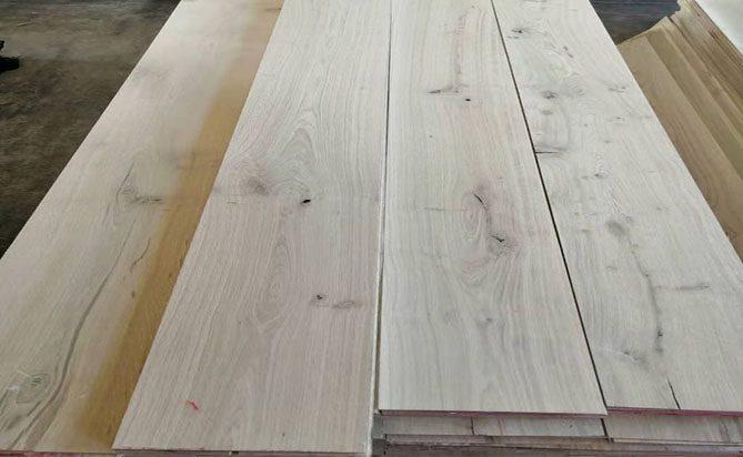 Sawn Cut  European Oak Flooring Veneers