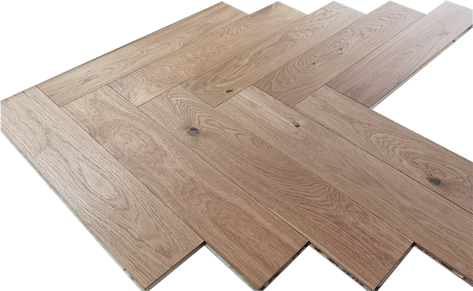 Herringbone Parquet Engineered Oak Flooring
